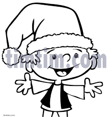 free drawing of christmas elf 3bw from the category christmas