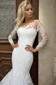 robe de mariã e manche longue dentelle robe de mariée sirène manches longues oksana mukha