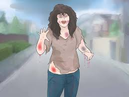 how to look like a zombie 6 steps with pictures wikihow