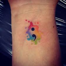 53 colorful watercolor tattoos