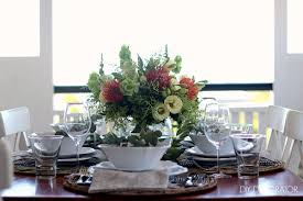 Flower Table L An Australian Table Setting Diy Decorator