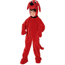 amazon com clifford the big red dog toddler costume toys u0026 games