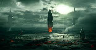 artwork fantasy art concept planets ruins space aliens walldevil