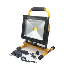 10w rechargeable flood light szyoumy led rechargeable floodlight 10w 20w 30w 50w cordless