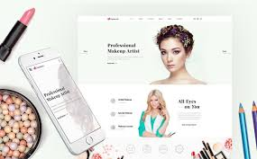 makeup artists websites makeup artist website template
