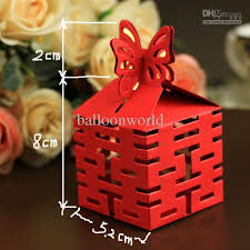 cheap wedding candy chinese style boxes favours decorations party