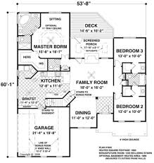 Ranch Floor Plans Shining Design 14 1800 Square Foot Ranch Floor Plans Special Sq Ft