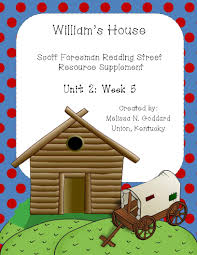 william u0027s house reading street comprehension posters and phonics