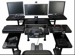 ultimate computer gaming setup magnificent furniture ideas cool