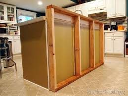 how to build a kitchen island using wall cabinets diy breakfast bar added to the kitchen island reality