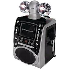 singing machine with disco lights amazon com singing machine sml 390 disco lights cdg karaoke system