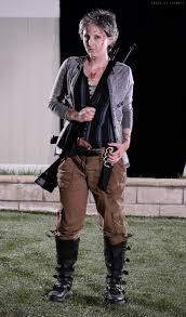 Dead Cowboy Halloween Costume Carol Peletier Walking Dead Cosplay Costume Amelia Carol