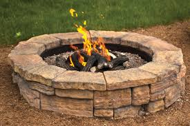 Outdoor Stone Firepits by Outdoor Fire Features Www Mansfieldbrickandsupply Com