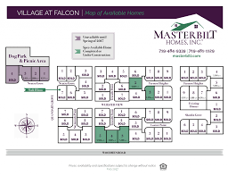 Louvre Floor Plan by Village At Falcon Masterbilt Homes Inc