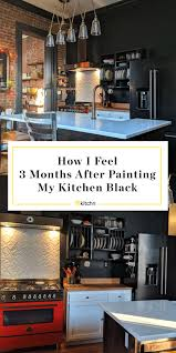 best way to paint kitchen cabinets black i painted my kitchen black here s my review kitchn