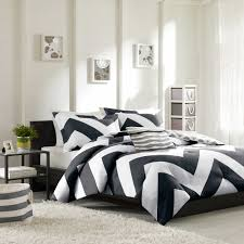 Bright Comforter Sets Bedroom Luxury Embossed Solid Oversized Bedding With Black And