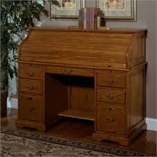 riverside roll top desk buy riverside meridian oak roll top desk with locking file drawers