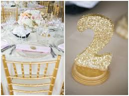 gold wedding table numbers rustic elegance wedding in blush cream gold carly fuller