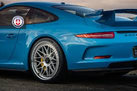 gulf porsche 911 mexico blue porsche 911 gt3 on hre classics gulf orange cameo