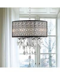 bronze metal l shade get the deal the lighting store bronze metal and crystal 4 light