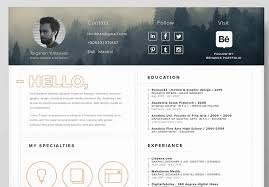 resume template for best free resume templates in psd and ai in 2018 colorlib