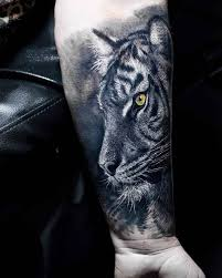 tiger on arm best ideas gallery