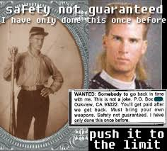 Safety Not Guaranteed Meme - meme and other lol your safety is not guaranteed