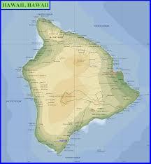 Map Of Hawaii Island Hawaiian Islands