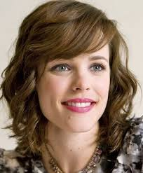 above shoulder length hairstyles with bangs 23 chic medium hairstyles for wavy hair styles weekly