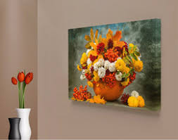 Cafe Home Decor Daisies Painting Canvas Online Daisies Painting Canvas For Sale