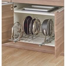 kitchen cupboard storage pans pots and pans pull out