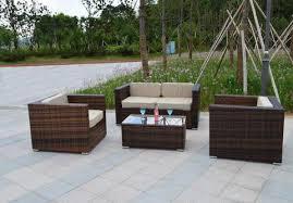 Sunbrella Patio Chairs by Santa Cruz Sunbrella Outdoor Wicker Patio Furniture Set U2013 San