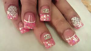 3d blush pink nail designs part 3 of 3 youtube
