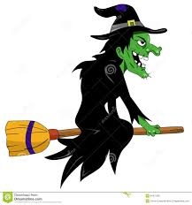 halloween witch stock photography image 34475082
