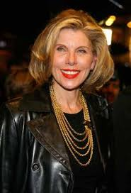 christine michael with short hair christine baranski with daughters lily and isabel famous mother
