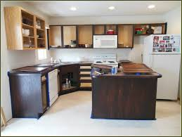 kitchen magnificent how to stain wood cabinets darker white gel