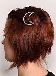 barrettes for hair half moon celestial boho hair pins barrettes gogetglam