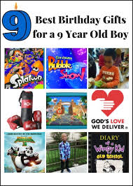 9 best birthday gifts for a 9 year boy