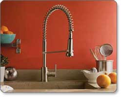 pre rinse kitchen faucets danze d455158ss parma single handle pre rinse faucet stainless