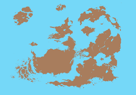 World Map Flat by Fictional World Map Flat Color By Sainez On Deviantart