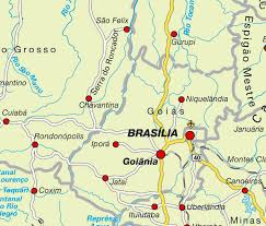 map of brasilia brasilia map and brasilia satellite image