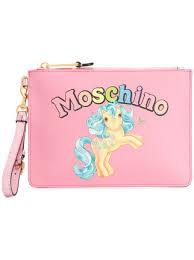 my pony purse moschino my pony clutch bag 295 buy ss18 online fast