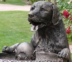 labrador retriever garden outdoor decor click for info