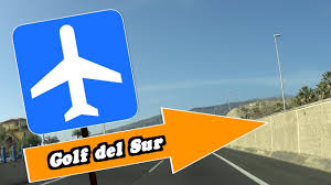 how to get from tenerife airport to golf del sur youtube