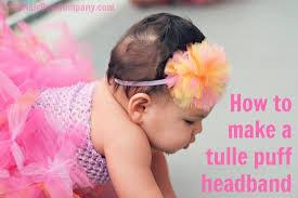 knot headband diy tulle puff headband tulle knot headband the hair bow company