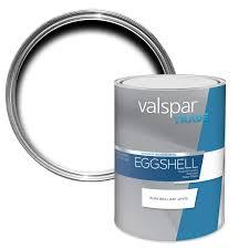 valspar trade pure brilliant white eggshell effect wall u0026 ceiling
