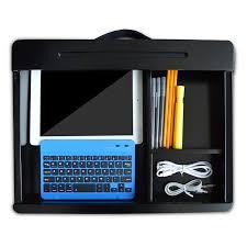 Lap Desk With Storage Compartment Amazon Com Life Made Icozy Dorm Lap Desk Lclapd02 R 960