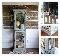 Kitchen Curio Cabinet Gorgeous Ideas Design For Lighted Curio Cabinet Kitchen Curio