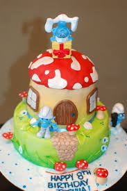 159 best smurfs cakes images on pinterest awesome cakes cakes