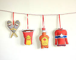 Theme Ornaments Ornaments Set Of 4 Canadian Theme Ornaments Hostess